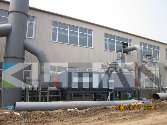 Electrostatic Oil Mist Purifier For Textile Industry Waste Air Pollution Control