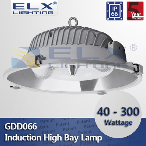 Elx Lighting Heat Resistant Vacuum Reflector Aluminum Die Casting Technology Lamp Body 40 300w Induc
