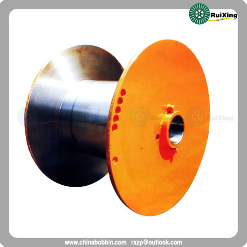 Empty Metal Flange Process Drum Reels Spool