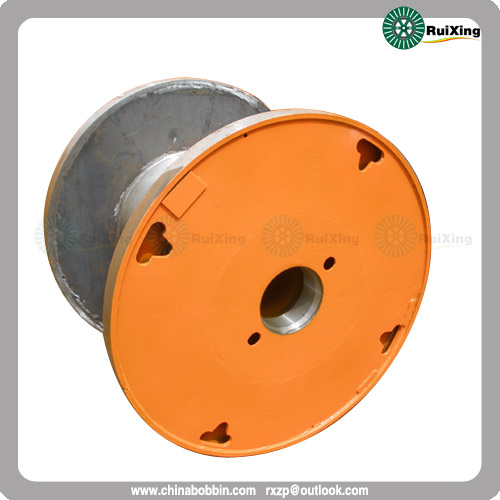 Empty Wire Puller Drum Bobbin Custom Mild Steel Spool Cable