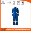 En11612 Aramid 3a Permanent Flame Resistant Anti Static Safety Clothing For Fire Field