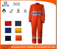 En11612 Fire Proof Welding Workwear Coveralls For Sale
