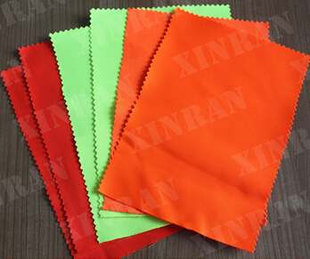 En20471 Protection High Visibility Fluorescent Fabric