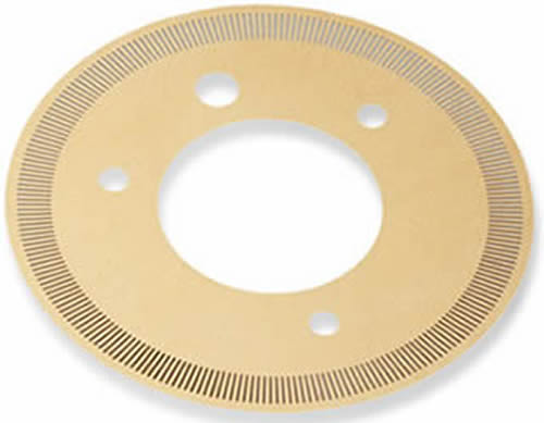 Encoder Disk With Precision Slot And Non Burrs Stresses