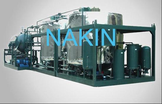 Engine Black Oil Regeneration System