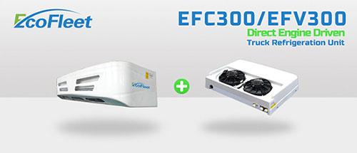 Engine Driect Driven Refrigeration Units For Truck Efc300 Efv300