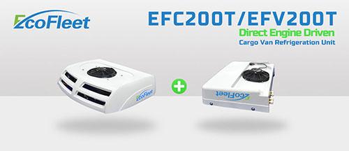 Engine Driven Cargo Van Refrigeration Units Efc200t Efv200t