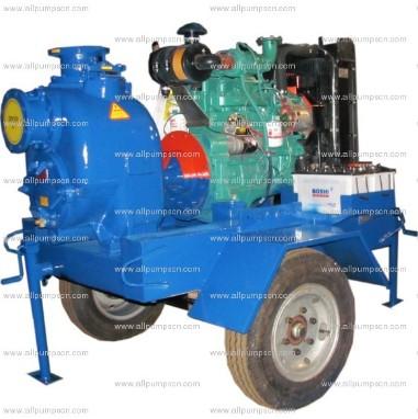 Engine Driven Trash Pump