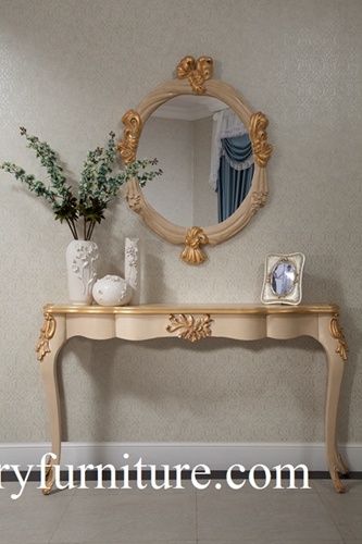 Entrance Table Decorations Console Decoration With Mirror Fh101