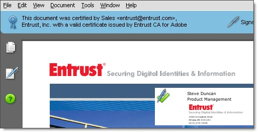 Entrust Adobe Cds Signing Certificates