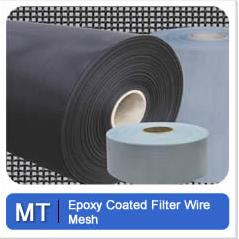Epoxy Coated Wire Mesh Metal Tec