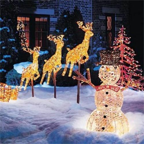 Epoxy Light Chirstmas Decorative Lights