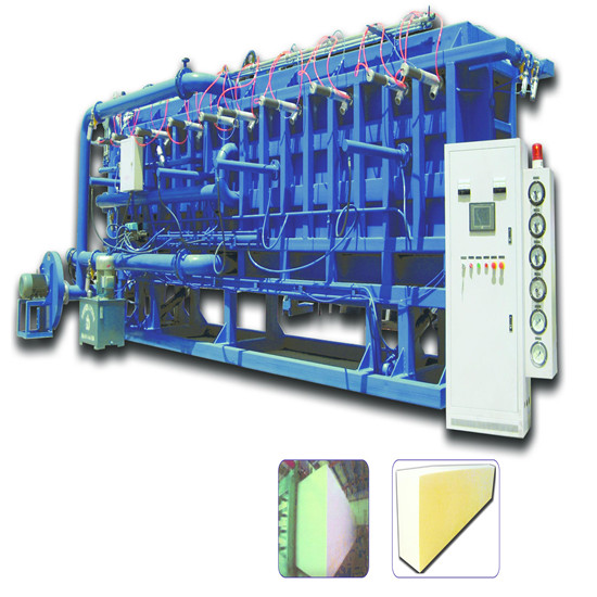 Eps Automatic Air Cooling Block Molding Machine
