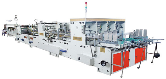 Es 1800 Ac High Speed Automatic Pasting Box Machine