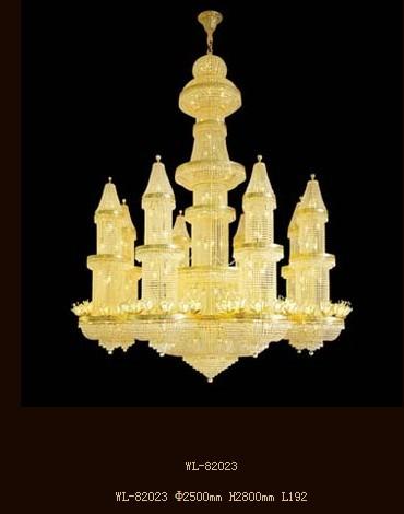 European Luxury Palace Crystal Chandelier