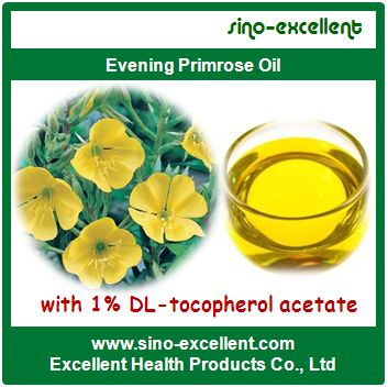 Evening Primrose Oil With 1 Dl Tocopherol Acetate