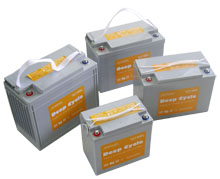 Everexceed Deep Cycle Gel Range Vrla Battery