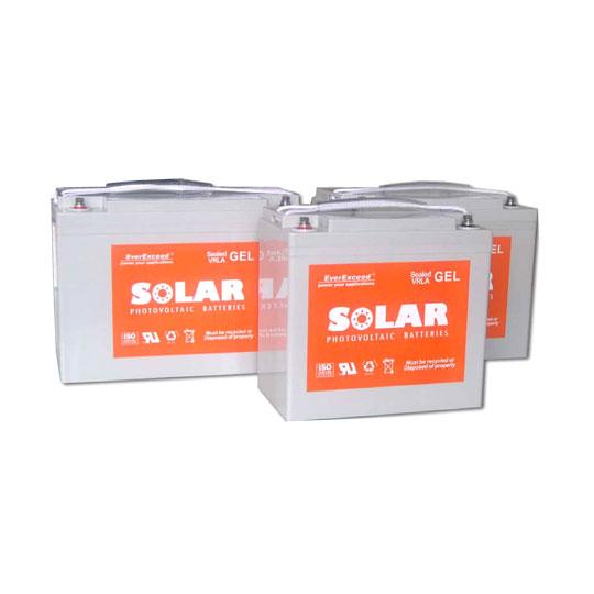 Everexceed Solar Gel Range Vrla Battery