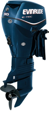 Evinrude 50hp Outboard Motor