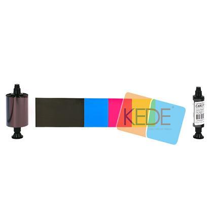 Evolis R3013 Ymcko Half Panel Color Ribbon