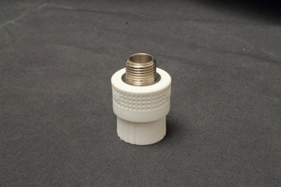 Excellent Quality Ppr Male Thread Coupling White Green Gray For You To Choose