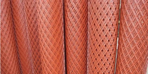 Expanded Copper Mesh Used In Construction