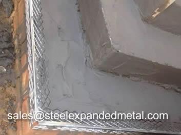 Expanded Metal Angle Bead