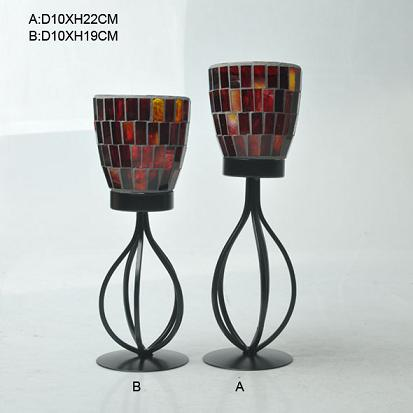 Export Glass Candle Holder