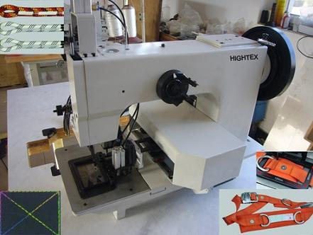 Extra Heavy Duty Thick Thread Automated Pattern Sewing Machine