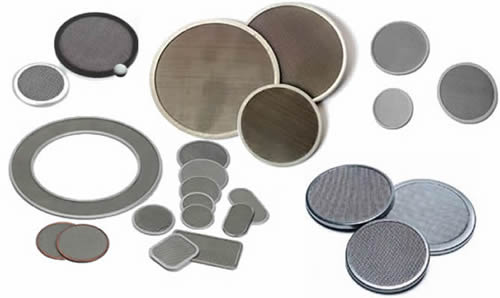 Extruder Screen Filter Discs
