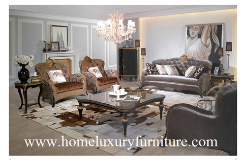 Fabric Sofas Living Room Furniture Sofa Price Supplier Classical Sets Ti006