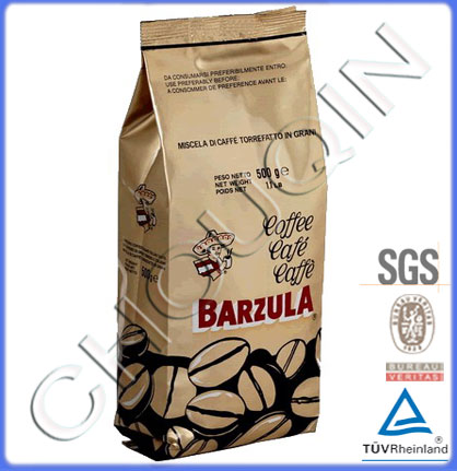 Factory Price Side Gusset Bag For Coffe Packaging