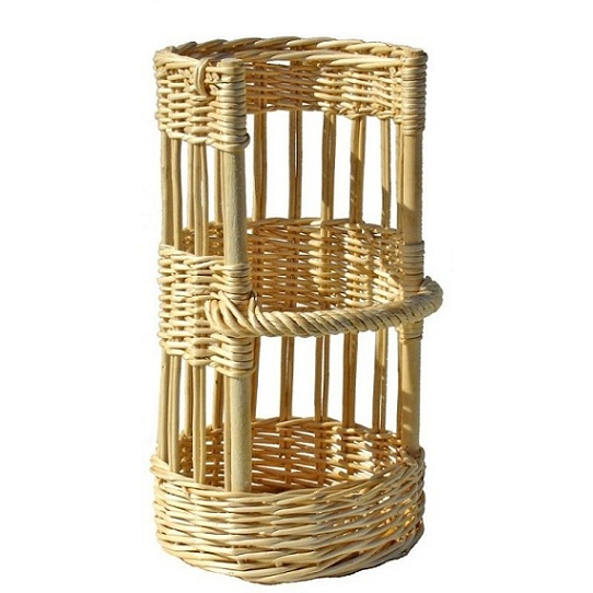 Factory Wholesale High Quality 100 Nature Handcraft Rattan Wicker Bread Baskets