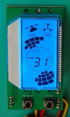 Fan Control Module For Computer Case