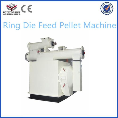 Farm Equipment High Efficiency Ring Die Feed Pellet Machine