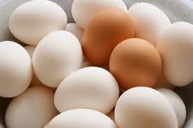 Farm Fresh Chicken Eggs Brown And White