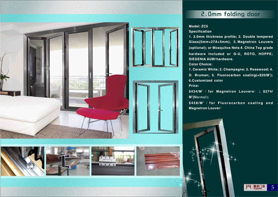 Fashion Aluminium Sliding Door And Window