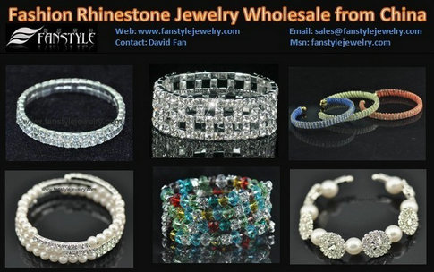 Fashion Crystal Jewelry Bracelets Bangles Wholesale From China
