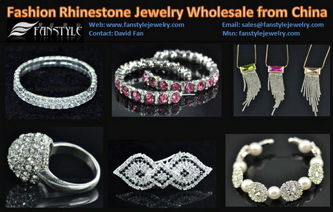 Fashion Crystal Jewelry Wholesale From China
