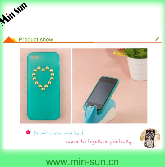 Fashion Custom Made Cell Phone Cover For Tpu Iphone Case Studs