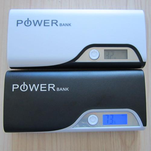 Fashion Design 10 000mah Dual Usb Power Banks High Quality Led Screen Number Display Supply