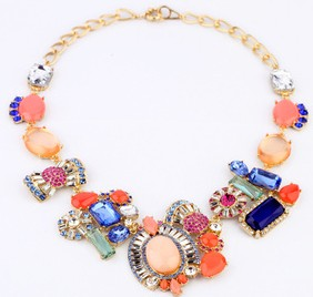 Fashion Jewelry Necklaces Gemstone Necklace