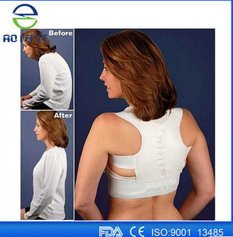 Fashion Style Hot Product Adjust Orthopedic Back Posture Support Brace Aft B001