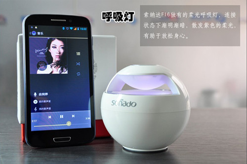 Fashion Wireless Bluetooth Speaker With 360 Stereo Music System F16