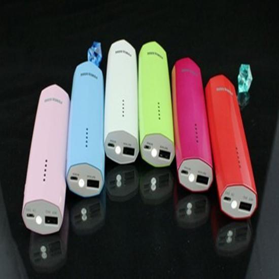 Fashionable Design Backup Battery Portable Power Bank For Ipod Iphone Ipad Mobile Phones Led Light