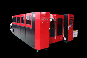 Fast Speed Good Effective 2kw Fiber Laser Machine For Cut Metal Materials