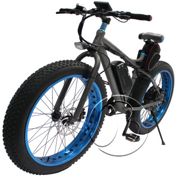 Fat Tyre 1000w 48v Lithium Battery Electric Bike
