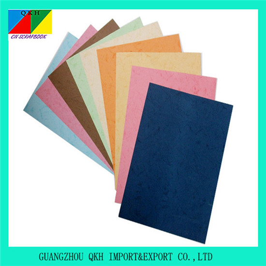 Faux Leather Paper Embossed For Decoration