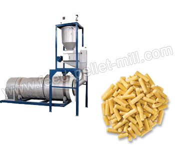 Feed Pellet Coating Machine Can Spray Nutriment And Medicine On The Formed Pellets Surface