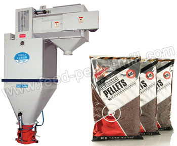 Feed Pellet Weighing And Packaging System
